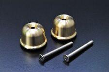 Triumph Bonneville Bar End Cap - brass