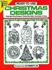 Ready-to-Use Christmas Designs (Dover Clip Art Ready-to-Use) by Sibbett Jr., Ed,