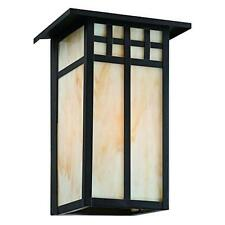 Hampton Bay Coleville Large Wall Mount Glendale Bronze Outdoor Lantern, 964025