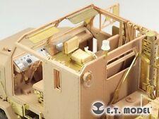 ET Model E35132 1/35 M1070 Truck Tractor Interior Detail Up Set for Hobby Boss