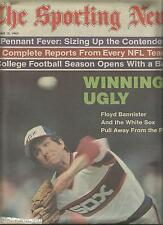 CHICAGO WHITE SOX FLOYD BANNISTER 1983 SPORTING NEWS MAGAZINE ALL STAR MARINERS