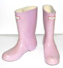 HUNTER Original Short Rubber pink Rain Boots US 7 M / 8 F