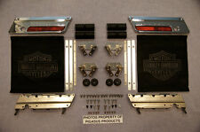 HARLEY GENUINE OEM TOURING SADDLEBAG HARDWARE SET COMPLETE CHROME LATCHES