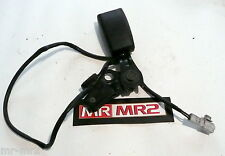 Toyota MR2 MK2 Revision3 Type  Drivers Side Black Seat Belt Buckle & Bracket