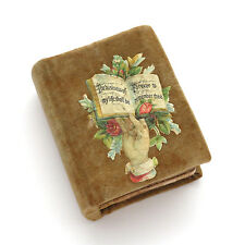 Antique Victorian Paper Sewing Needle Case / Sewing Box ~ AAFA