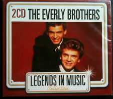 LEGENDS IN MUSIC COLLECTION - THE EVERLY BROTHERS - 2 CD NEUF -