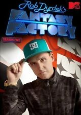 Rob Dyrdek's Fantasy Factory ~ Complete 5th Fifth Season 5 Five ~ BRAND NEW DVD