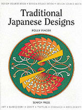 Traditional Japanese Designs (Design Source Books), Pinder, Polly Paperback Book