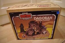 Vintage Star Wars ESB Degobah Action Playset Boxed Kenner Complete Baggies