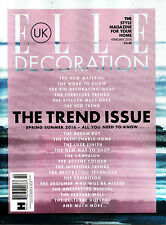 ELLE DECORATION 02/2016 The Trend Issue S/S2016 - ALL YOU NEED TO KNOW @New@