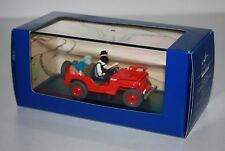 ATLAS-TINTIN-Willys Jeep MB + CJ2a-de Tintin au Pays de l´Or noir #ref 2 118 007