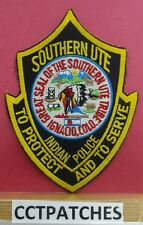 SOUTHERN UTE, COLORADO INDIAN POLICE SHOULDER PATCH CO