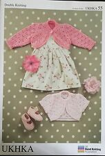 "patons DK Knitting Pattern Baby Girls Shrug Cardigan  Size 16/26"" Chest"