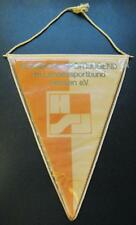 YOUTH SPORTS FEDERATION OF THE HESSEN LAND OF GERMANY BIG PENNANT 28X24CM OLD