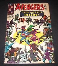 AVENGERS #24 FN- (5.5) 12¢ cover Marvel Comic   Big Battle Cover!