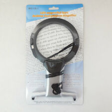 2.25X 5X LED Illuminated Reading Sewing Embroidery Magnifying Glass