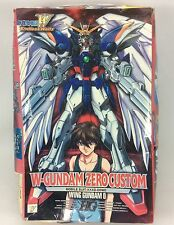 HG 1/100 Gundam-W OVA Endless Waltz XXXG-00W0 W-Gundam Zero Custom Gunpra BANDAI