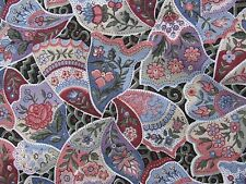 Joan Messmore Beautiful Floral BUTTERFLY WINGS Cranston Cotton Quilt Fabric 1 yd