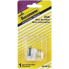 20A Mini Breaker by Bussmann no. BP/MB-20