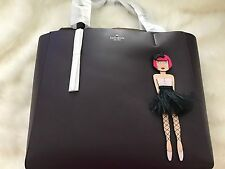 "KATE SPADE NEW YORK ""ON POINTE BALLERINA"" LEATHER HALLIE TOTE, NWT! Sale!!"