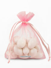 10 Organza Sheer Favor Bags, 8x12 Inches, Bridal Gift Bags -fast US SELLER