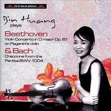 Bin Huang plays Beethoven & Bach, New Music