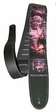 "Iron Maiden "" THE X FACTOR "" 2.5"" Wide Leather Guitar Strap"