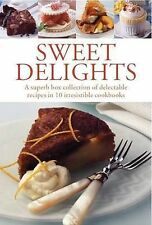 Sweet Delights 10 Cookbooks Box Set Collection Pack New