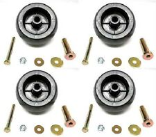 (4) DECK WHEEL KITS Exmark Viking Lazer Z Toro Groundsmaster Zero Turn Mower