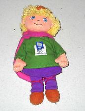 Lillehammer 1994 HAKON MASCOTTE OLIMPIADI  winter olympics Mascot doll Kristin
