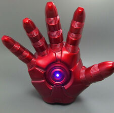 Iron Man Right Hand Gauntlet Glove 3D Lightable LED Light Cosplay High Quality