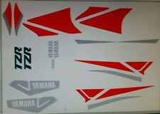 YAMAHA TZR125 FULL PAINTWORK DECAL KIT