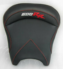 05-06 CBR 600R 600 RR Custom Shaped Covered Black Carbon Fiber Rider Front Seat!