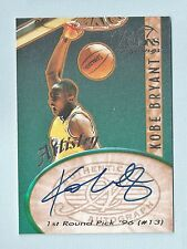 KOBE BRYANT 1994 VISION SIGNNINGS ARTISTRY AUTOGRAPH AUTO