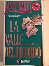 LIBRO - JANET DAILEY - LA VALLE DEL RICORDO - SPERLING PAPERBACK 1998