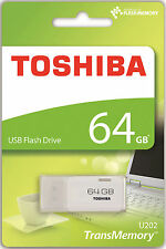 NEW 64GB Toshiba USB 2.0 Flash Key Drive USB Memory Stick 64GB
