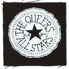 THE QUEERS all stars CLOTH PATCH -sew on **FREE SHIPPING** -punk move back home