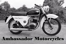 AMBASSADOR SUPER S 3 STAR OPERATIONS & ELECTRICAL MANUALs for Motorcycle Service