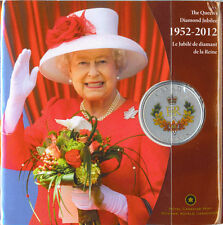 1952-2012 The Queen's Diamond Jubilee 50 Cents Coloured Coin
