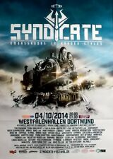 SYNDICATE - 2014 - Plakat - Ambrassadorsin Harder Styles - Techno - Hardcore