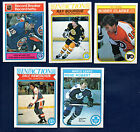 1982-83 OPC Hockey Finish Your Set Pick 20 NM to NM-MT With Stars