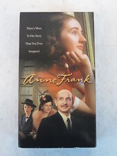 Ben Kingley   ANNE FRANK   2 VHS   Buena Vista   2001