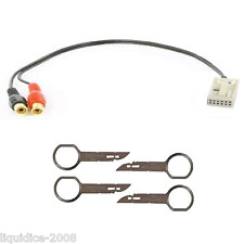 CT29AU04 AUDI A3 2006   IPHONE IPOD MP3 AUXILIARY AUX INTERFACE CABLE&  CT22AU01