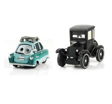 Disney Pixar Movie Cars Diecast Toy Lizzie Old Lady & Bad Professor Z Loose