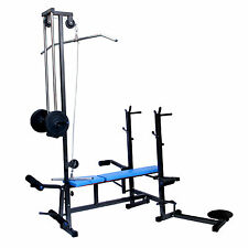 FITFLY PREMIUM QUALITY 20 IN 1 MULTI-PURPOSE BENCH 2X2 PIPE FOR EXERCISE