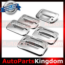 04-14 Ford F150 Overlay Chrome 4 Door Handle+no keypad no KH+ Tailgate Cover Kit