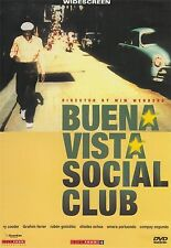 Buena Vista Social Club 2003 Wim Wenders BRAND NEW AND SEALED UK REGION 2 DVD