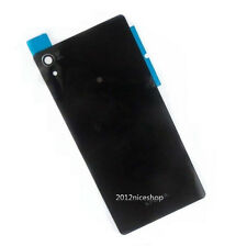 10pcs Black Battery Rear Glass Cover Panel for Sony Xperia Z2 L50w D6503 D6502