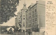 A View Of The College, St Marie PQ Quebec, Canada 1908