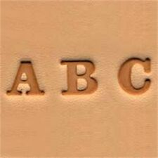 "Alphabet Leather Stamp Set - Easy-to-do 0.6cm (1 4"") Emboss Tool Tandy 4903-01"